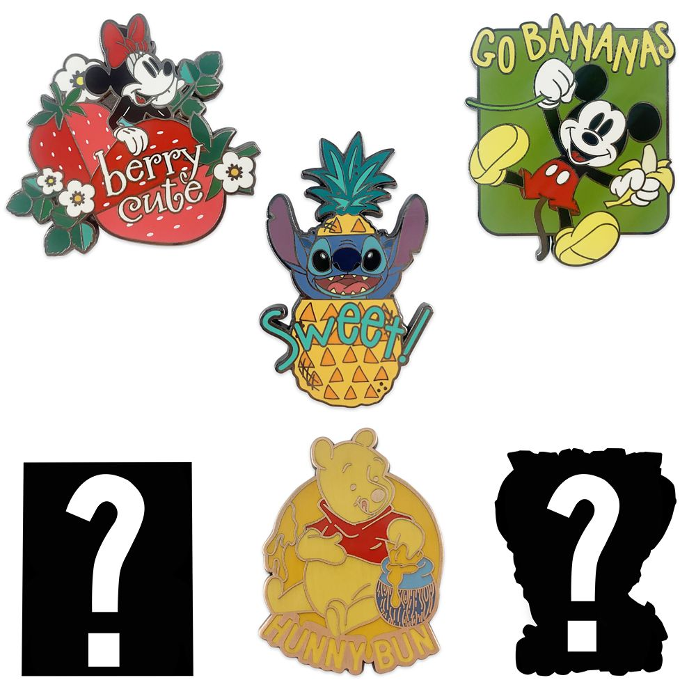 Disney Character Food Mystery Pin