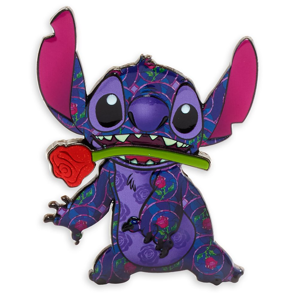 Stitch Crashes Disney Pin – Beauty and the Beast – Limited Release