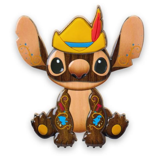 Stitch Crashes Disney Jumbo Pin – Pinocchio – Limited Release