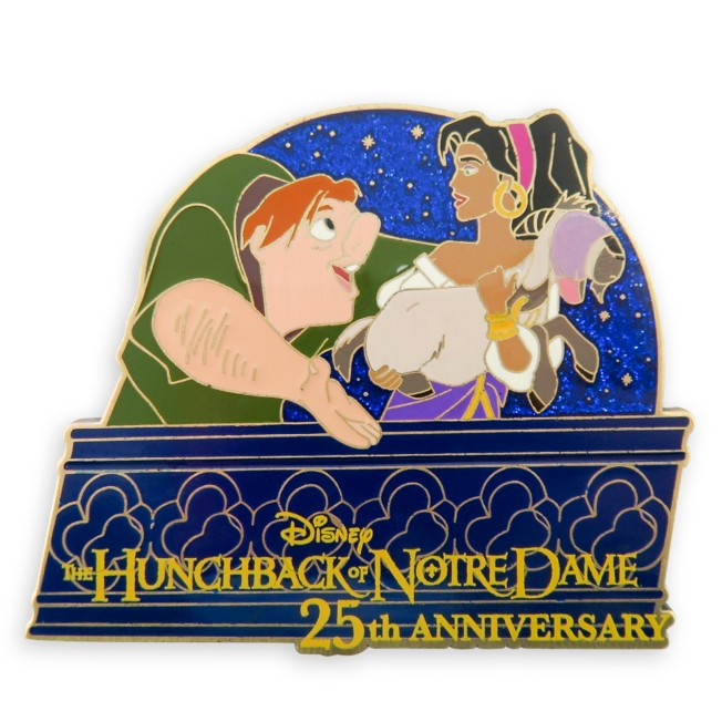 The Hunchback of Notre Dame 25th Anniversary Pin – Limited Release