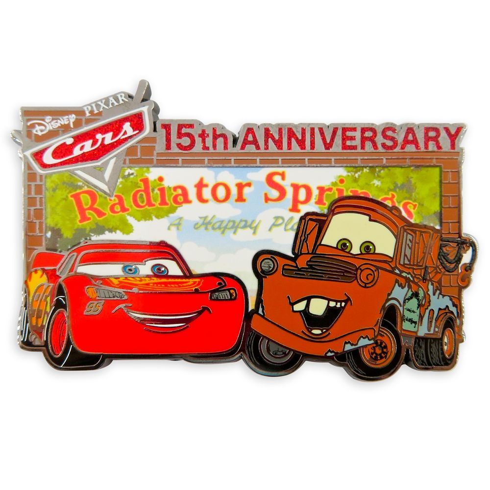 Cars 15th Anniversary Pin – Limited Release