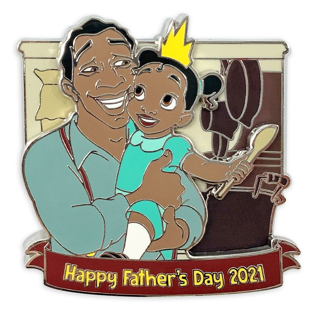 The Princess and the Frog Father's Day 2021 Pin – Limited Release