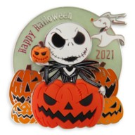 Jack Skellington and Zero Pin – Halloween 2021 –Limited Release