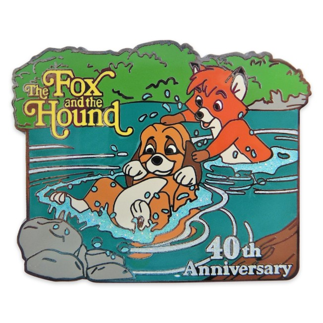 The Fox and the Hound 40th Anniversary Pin – Limited Release