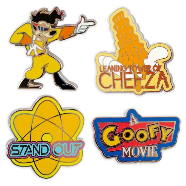 A Goofy Movie Flair Pin Set