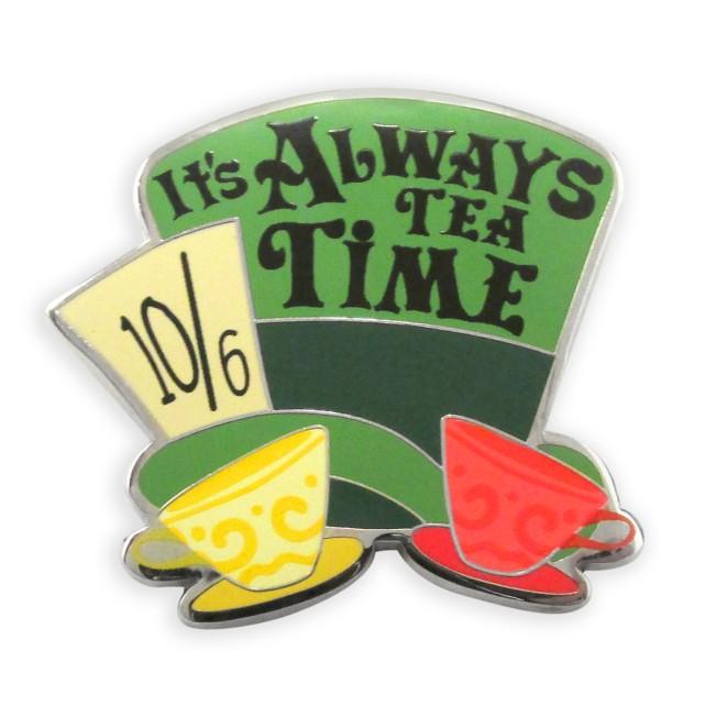 Mad Hatter Hat Flair Pin – Alice in Wonderland