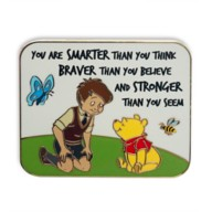 Winnie the Pooh and Christopher Robin Flair Pin