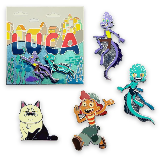 Luca Pin Set – Limited Edition