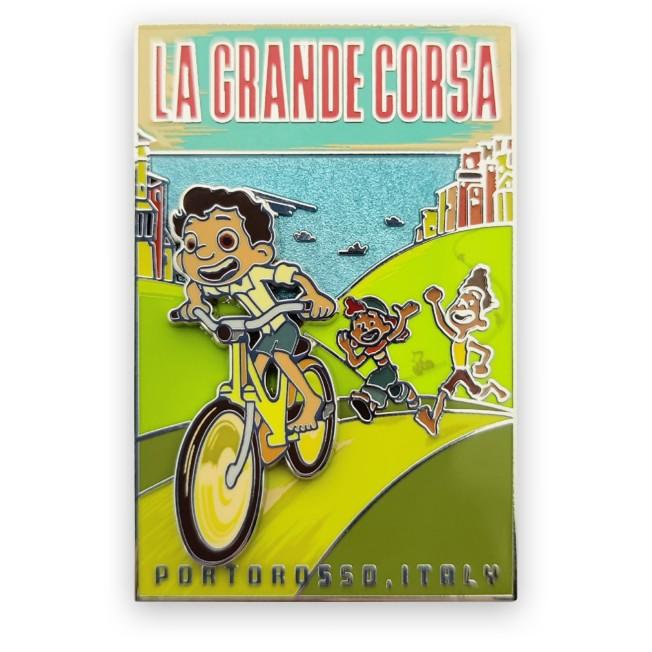 Luca ''La Grande Corsa'' Pin – Limited Release