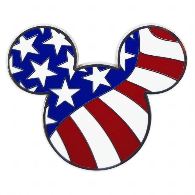 Mickey Mouse Icon Americana Pin
