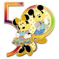 Mickey and Minnie Mouse Pin – Walt Disney World 50th Anniversary