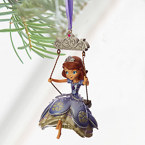 Sofia the First Sketchbook Ornament - Personalizable