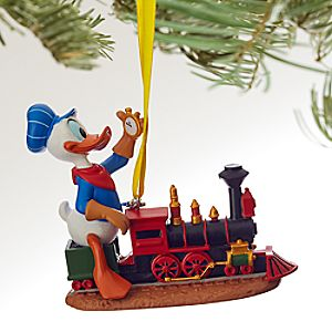 Donald Duck Sketchbook Ornament - ''Out of Scale'' - Personalizable