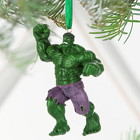 Hulk Sketchbook Ornament - Personalizable