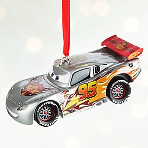 Lightning McQueen Light-Up Sketchbook Ornament