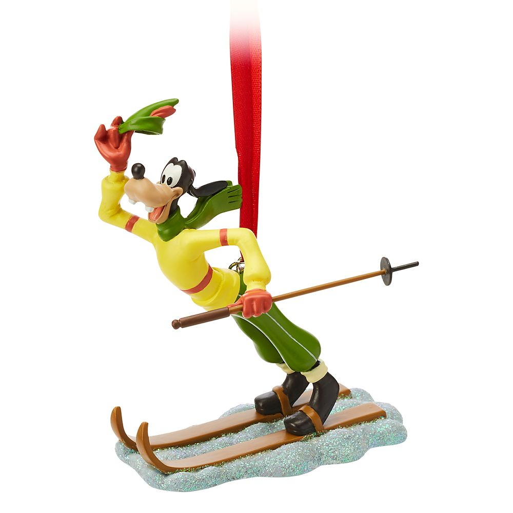 Goofy Sketchbook Ornament – The Art of Skiing