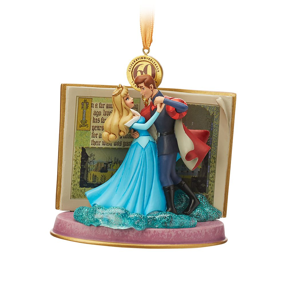 Sleeping Beauty Legacy Sketchbook Ornament – Blue – Limited Release