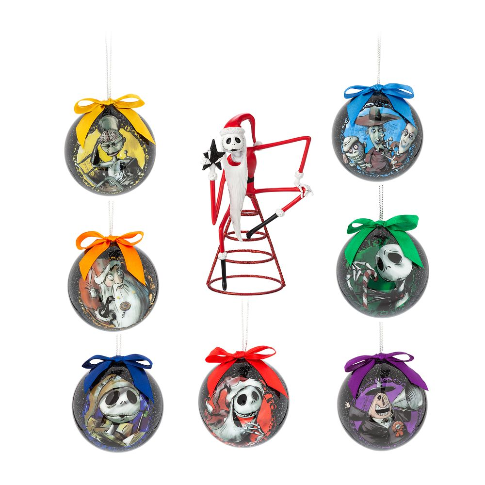 sale retailer 72952 5245f The Nightmare Before Christmas Ornament Set and Tree Topper