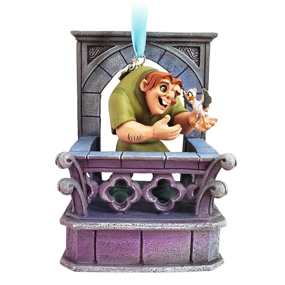 Quasimodo Singing Living Magic Sketchbook Ornament – The Hunchback of Notre Dame