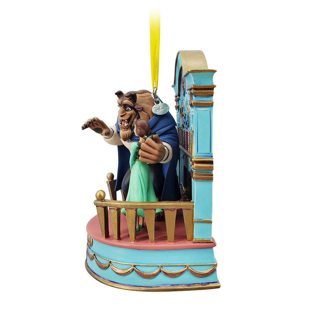 Belle Singing Living Magic Sketchbook Ornament – Beauty and the Beast