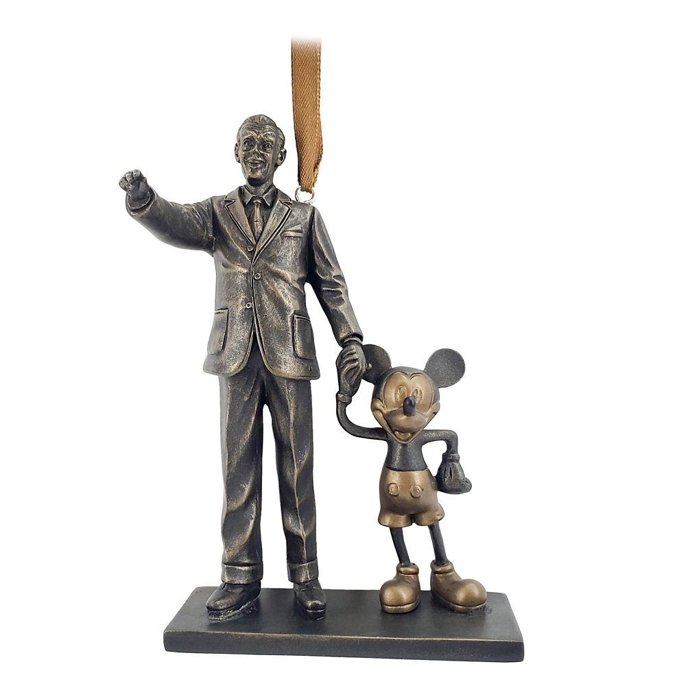 Walt Disney and Mickey Mouse ''Partners'' Sketchbook Ornament