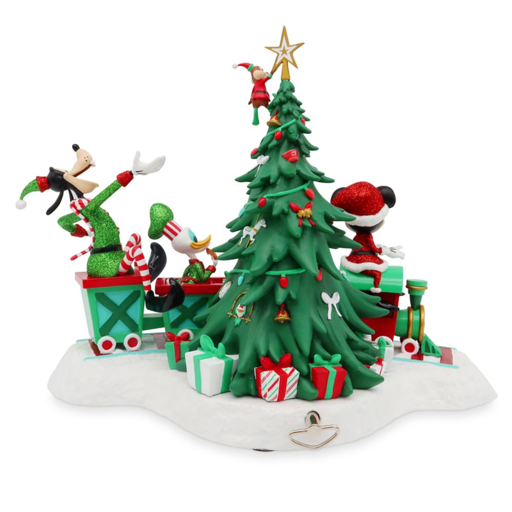 Mickey Mouse and Friends Musical Holiday Figurine