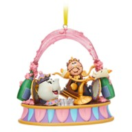 Lumiere and Friends Singing Living Magic Sketchbook Ornament – Beauty and the Beast