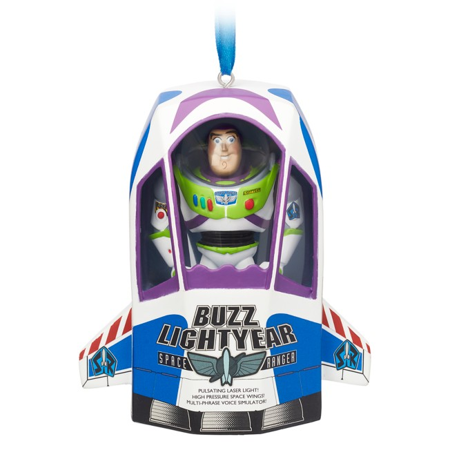 Buzz Lightyear Talking Living Magic Sketchbook Ornament – Toy Story