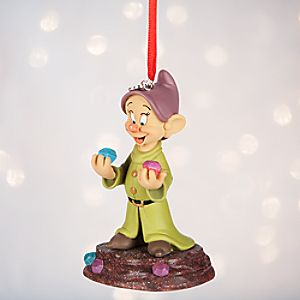Dopey Sketchbook Ornament - Personalizable