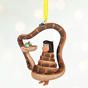 Mowgli and Kaa Sketchbook Ornament - Personalizable