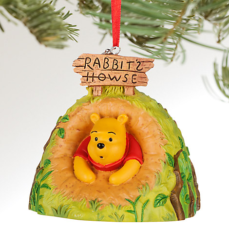 Winnie the Pooh Sketchbook Ornament - Personalizable