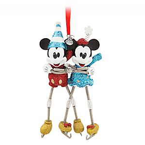 Mickey and Minnie Mouse Sketchbook Ornament – Vintage Toy Series