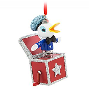 Donald Duck Sketchbook Ornament – Vintage Toy Series