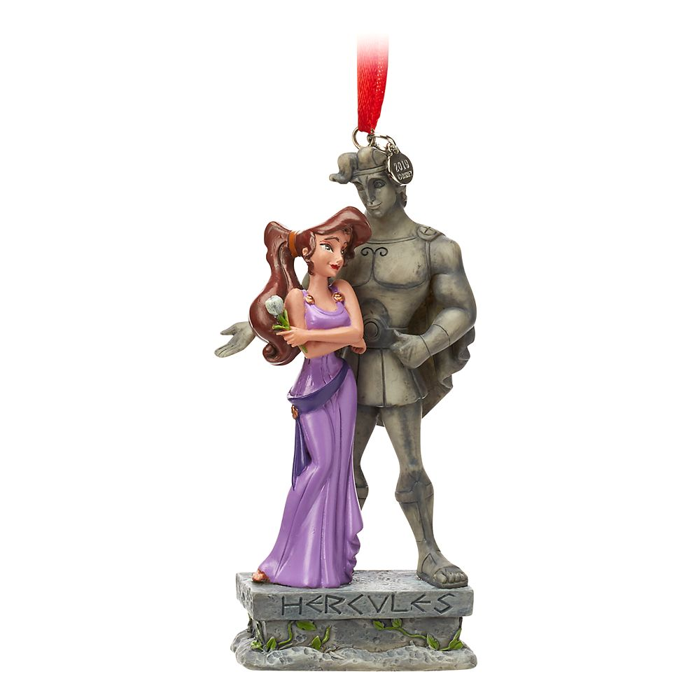Megara and Hercules Sketchbook Ornament