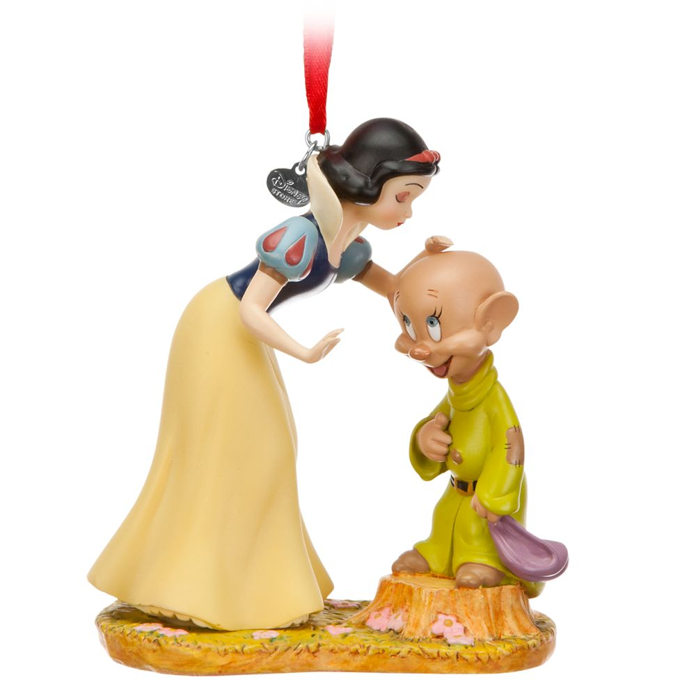 Snow White and Dopey Sketchbook Ornament