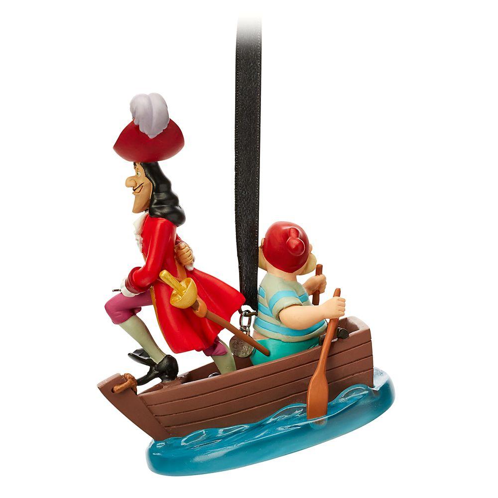 Captain Hook and Mr. Smee Sketchbook Ornament – Peter Pan