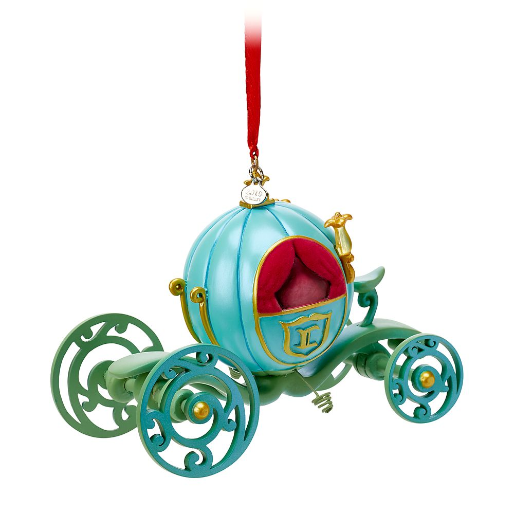 Cinderella Pumpkin Coach Sketchbook Ornament