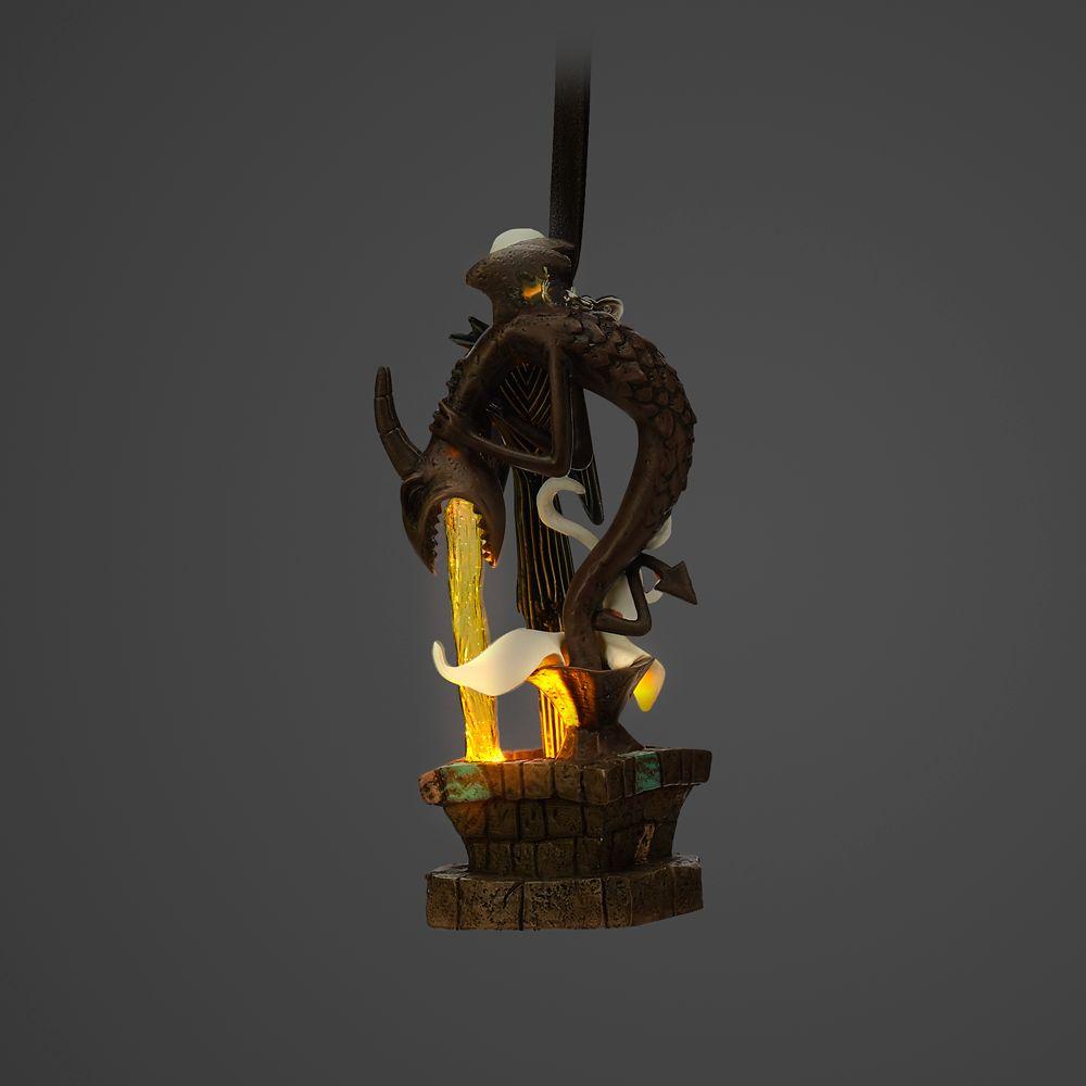 Jack Skellington and Zero Light-Up Living Magic Sketchbook Ornament