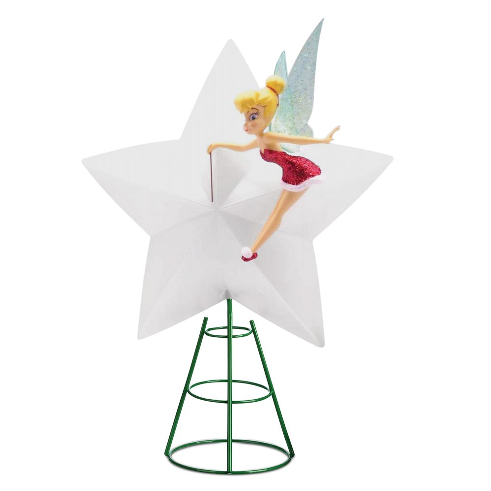 Tinker Bell Light-Up Holiday Tree Topper