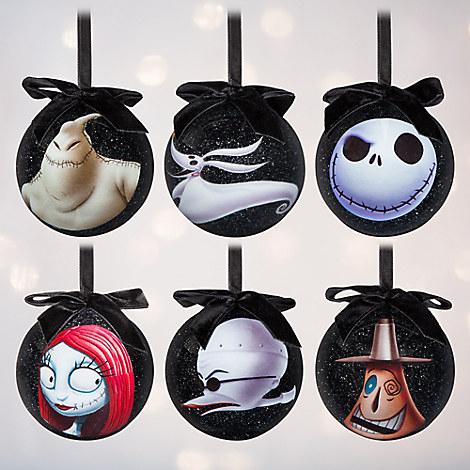 Tim Burton's The Nightmare Before Christmas Sketchbook Ornament Set