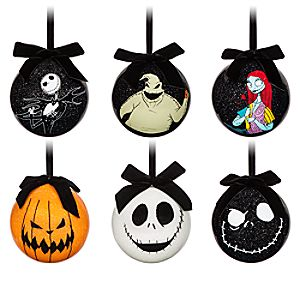 Tim Burton's The Nightmare Before Christmas Découpage Ornament Set