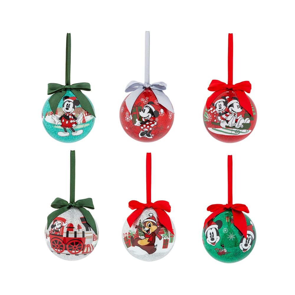 Mickey Mouse and Friends Sketchbook Ornament Set