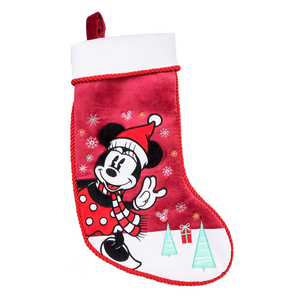 Minnie Mouse Holiday Stocking