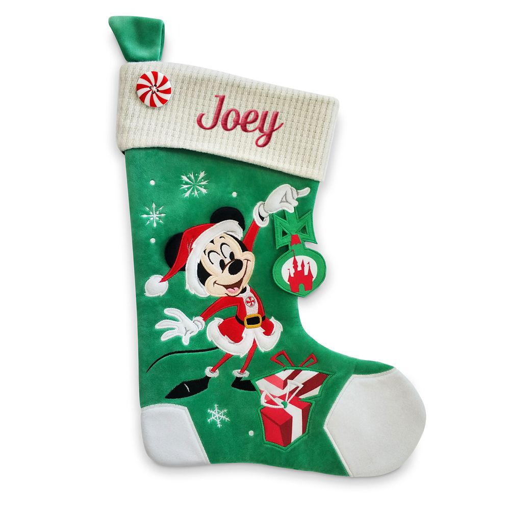 Mickey Mouse Holiday Stocking – Personalizable