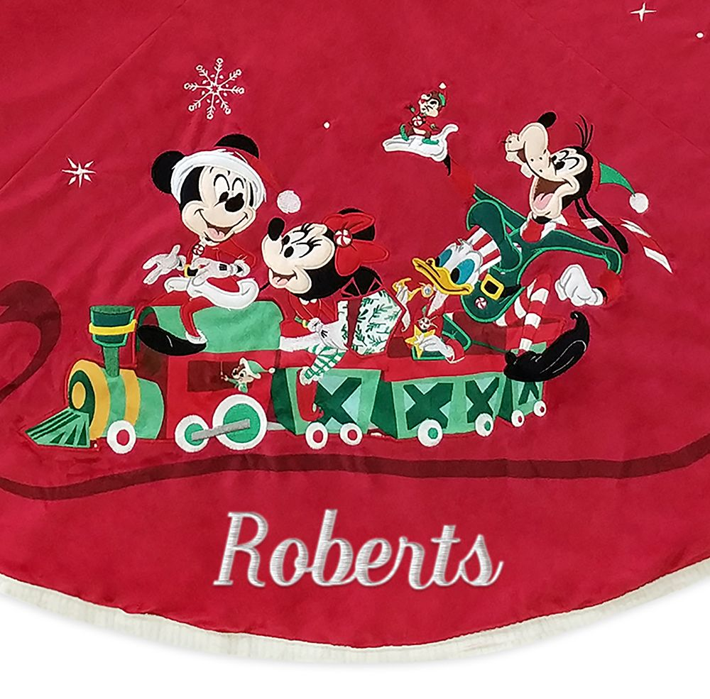 Mickey Mouse and Friends Holiday Tree Skirt