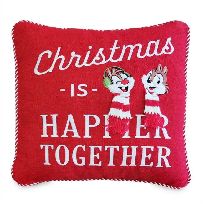 Chip 'n Dale Holiday Throw Pillow