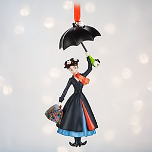 Mary Poppins Sketchbook Ornament - Personalizable