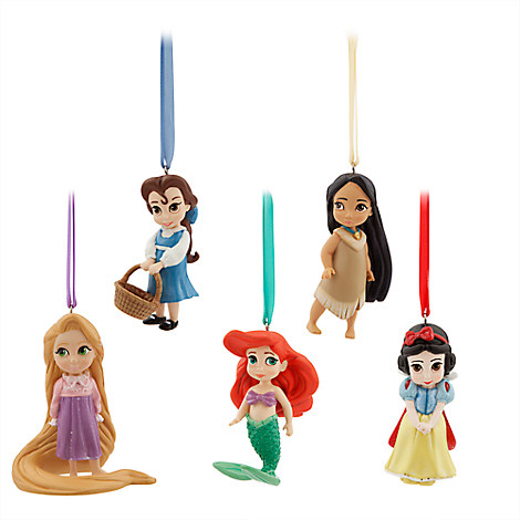 Disney Animators' Collection Sketchbook Ornament Set