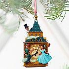 Peter Pan and Darling Children Sketchbook Ornament - Personalizable