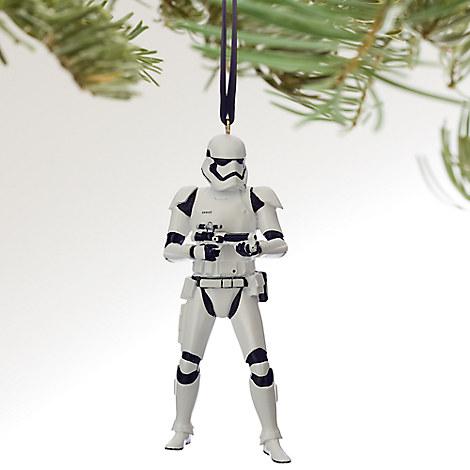 Stormtrooper Sketchbook Ornament - Star Wars - Personalizable